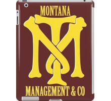Montana Management & Co Tony Montana - Scarface - Movie iPad Case/Skin