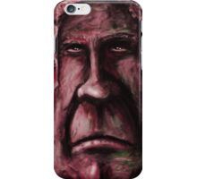 Fat Face - Red iPhone Case/Skin