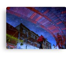 Chewing Gum Stars Canvas Print
