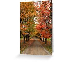 Fall Wonderland I Greeting Card