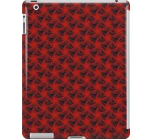 Floral Red Background iPad Case/Skin