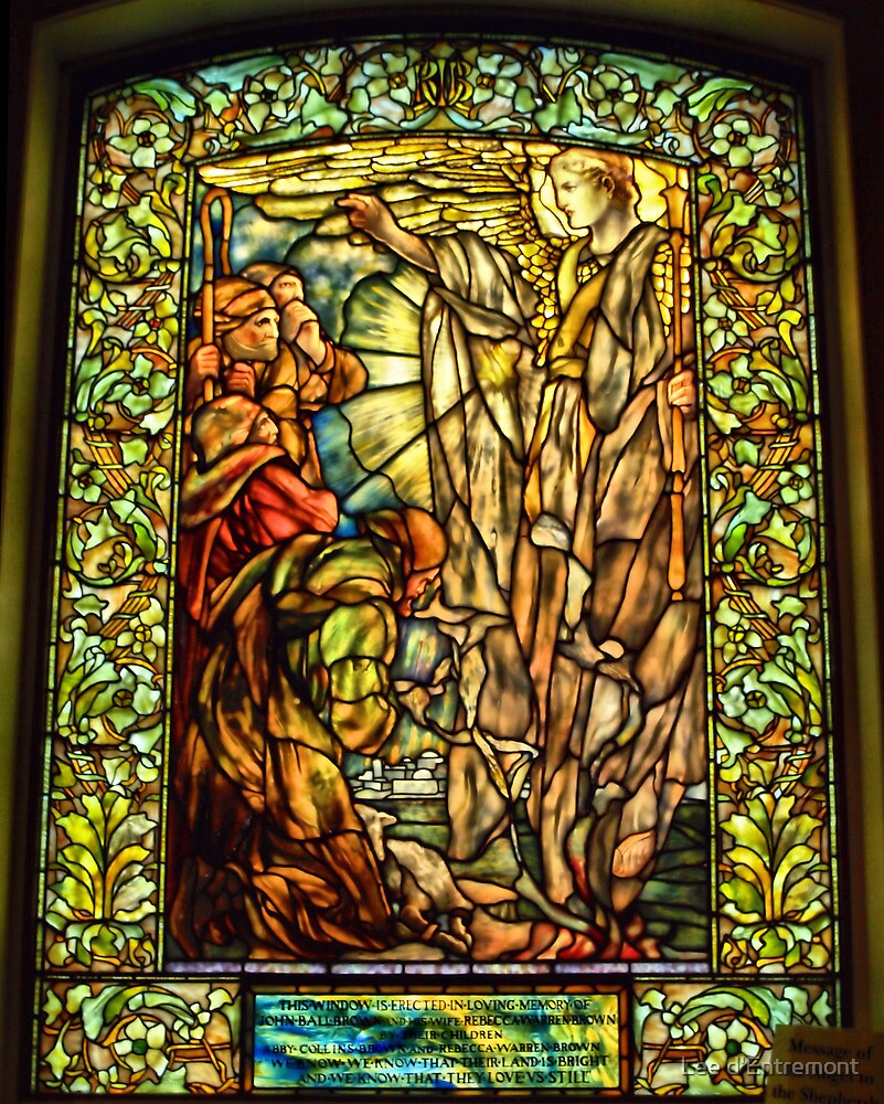 Message of the Angels to the Shepherds. by Lee d'Entremont