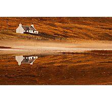 Mirror Image, Applecross Photographic Print