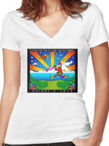 2012 - It's Not the End It's Only the Beginning Women's Fitted V-Neck T-Shirt