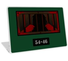 54-46 - Revisited - Red Laptop Skin
