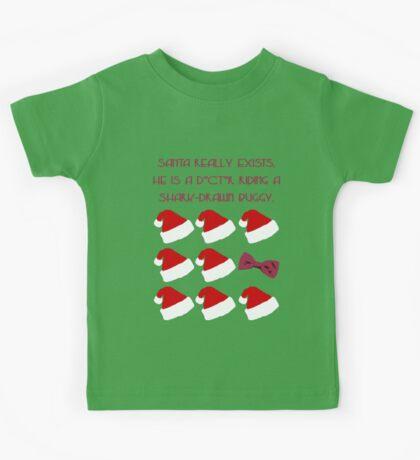 Doctor Santa - Doctor Who Kids Tee