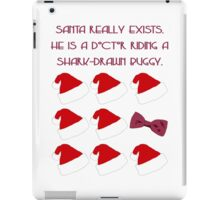 Doctor Santa - Doctor Who iPad Case/Skin