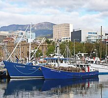 Constitution Dock - Hobart by pbclarke