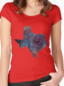 Texas Nebula Women's Fitted Scoop T-Shirt