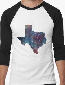 Texas Nebula Men's Baseball ¾ T-Shirt