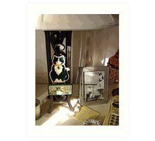 Cat Lover's Nook Art Print