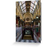 Royal Arcade Greeting Card