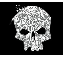 Skull famous heads Photographic Print