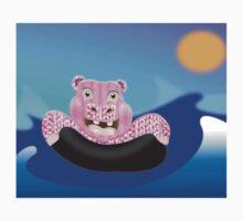 Larravide Hippo Surf Kids Clothes