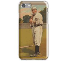 Benjamin K Edwards Collection Bill Carrigan Boston Red Sox baseball card portrait iPhone Case/Skin