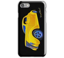 Yellow Ford Coupe iPhone Case iPhone Case/Skin