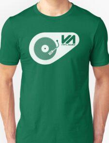 Vinyl Addict (white) Unisex T-Shirt