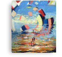 La Côte d'azur Canvas Print