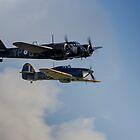 Blenheim & Hurricane Flypast by Kevin Tappenden