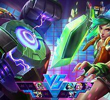 Arcade Riven - League of Legends by sinaki