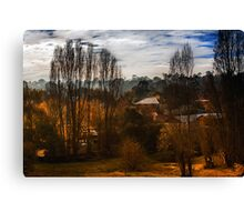 Mount Torrens Late Autumn  Canvas Print
