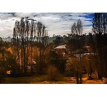 Mount Torrens Late Autumn  Photographic Print