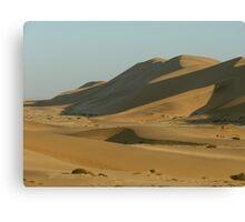 Namib Desert Sand Dunes - Namibia Canvas Print