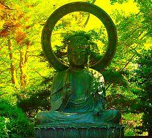 Buddha Golden Gate Pard by RWhitfield