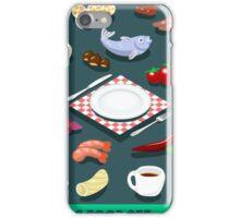 Diet Set Food Isometric iPhone Case/Skin