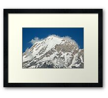 Mountain up close Framed Print