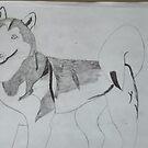 Husky Dog by Bearie23
