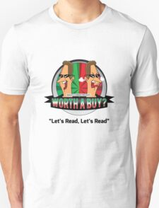 Lets Read (black txt) T-Shirt