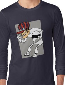 The Stig Unmasked! Long Sleeve T-Shirt