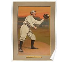 Benjamin K Edwards Collection Admiral Schlei New York Giants baseball card portrait Poster