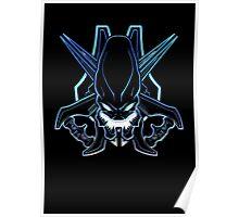Halo - Legendary Logo (Neon Light Effect) Poster