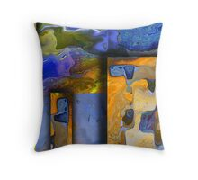 Maps of the World Throw Pillow