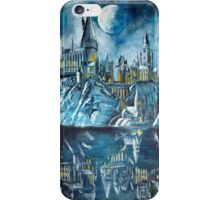 Hogwarts reflection iPhone Case/Skin