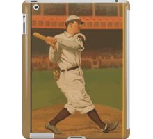 Benjamin K Edwards Collection Al Bridwell New York Giants baseball card portrait iPad Case/Skin