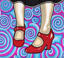 The Red Shoes by Angelique  Moselle