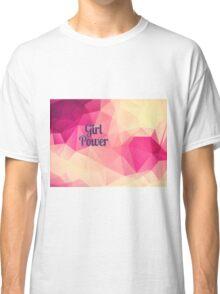 Geometric Girl Power Classic T-Shirt