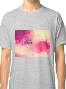 Geometric Girl Power Classic T-Shirt