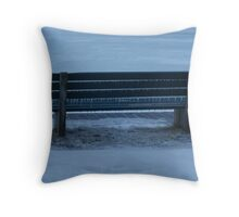 Icicle Bench Throw Pillow