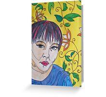 Woman 2 Greeting Card