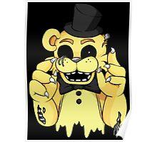 Dismantled Golden Freddy Poster