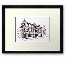 Kensington/Flemington, Melbourne Victoria. Doutta Galla Hotel, Racecourse Rd. Flemington. Framed Print