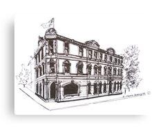 Kensington/Flemington, Melbourne Victoria. Doutta Galla Hotel, Racecourse Rd. Flemington. Canvas Print