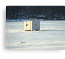ICE SHACK Canvas Print