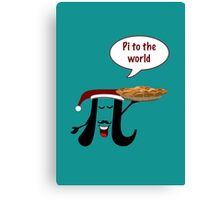 Pi to the world Canvas Print