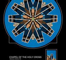 CHAPEL OF THE HOLY CROSS, SEDONA AZ. by PhotoIMAGINED