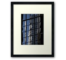 Denver reflection 5 Framed Print